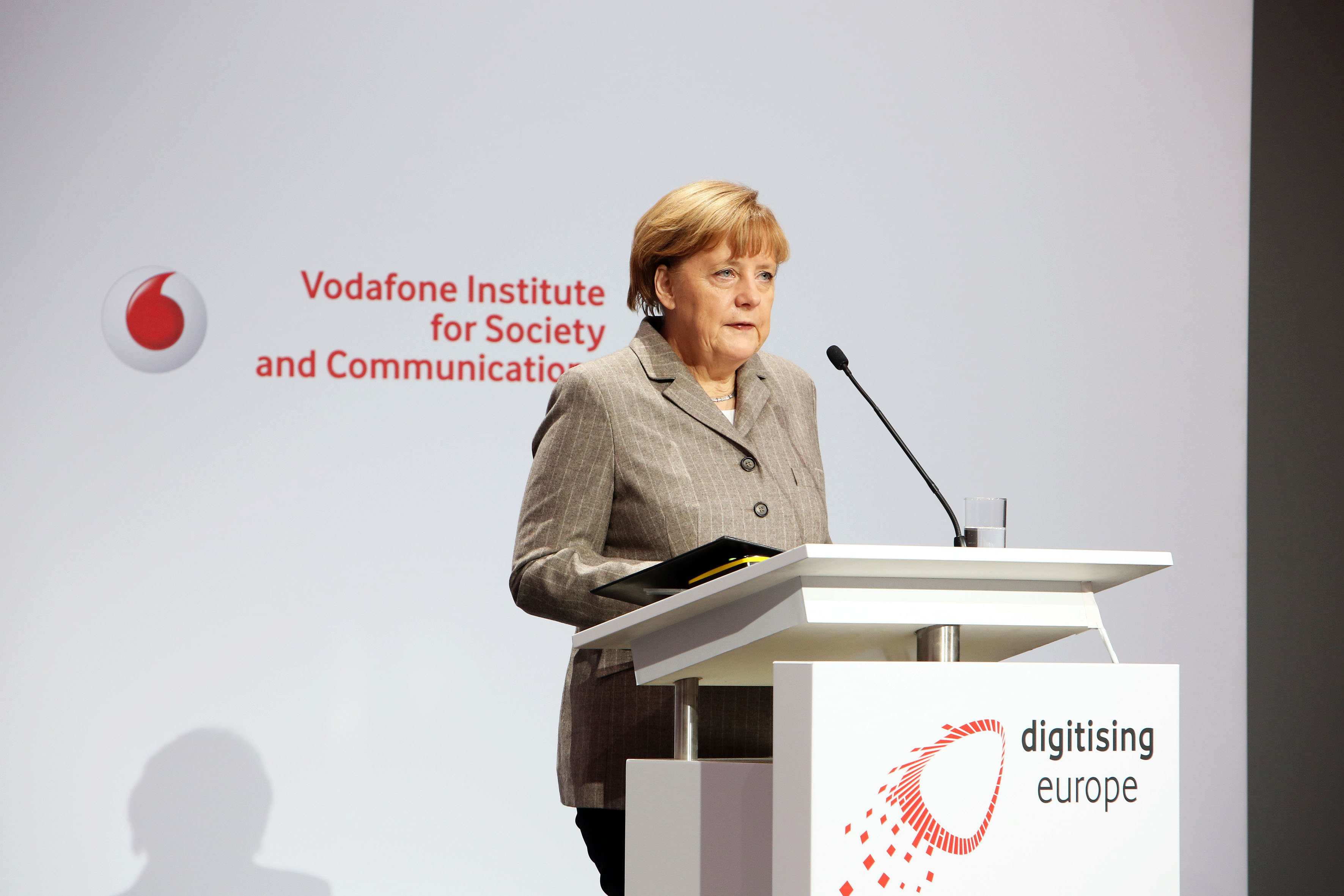 Digitising Europe - Angela Merkel