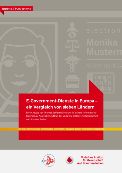 E-Government-Dienste in Europa – ein Vergleich von sieben Ländern