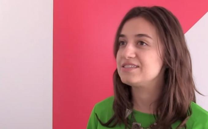 Gabriela Agustini (Olabi) at the Global Innovation Gathering / accompanying re:publica 2015