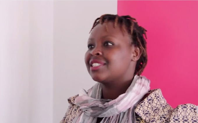 Martha Chumo (The Dev School) at the Global Innovation Gathering / accompanying re:publica 2015