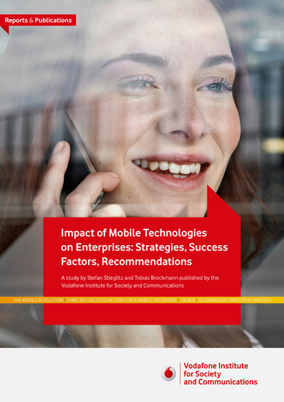 Study Impact of Mobile Technologies on Enterprises