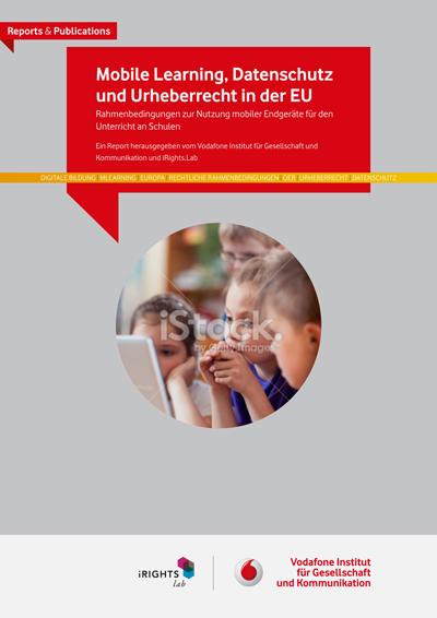 Mobile Learning, Datenschutz und Urheberrecht in der EU