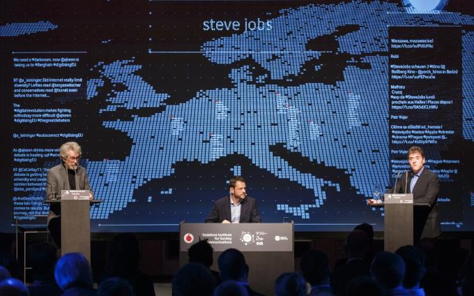 Debatte der IT-Giganten Pentland und Keen über Big Data