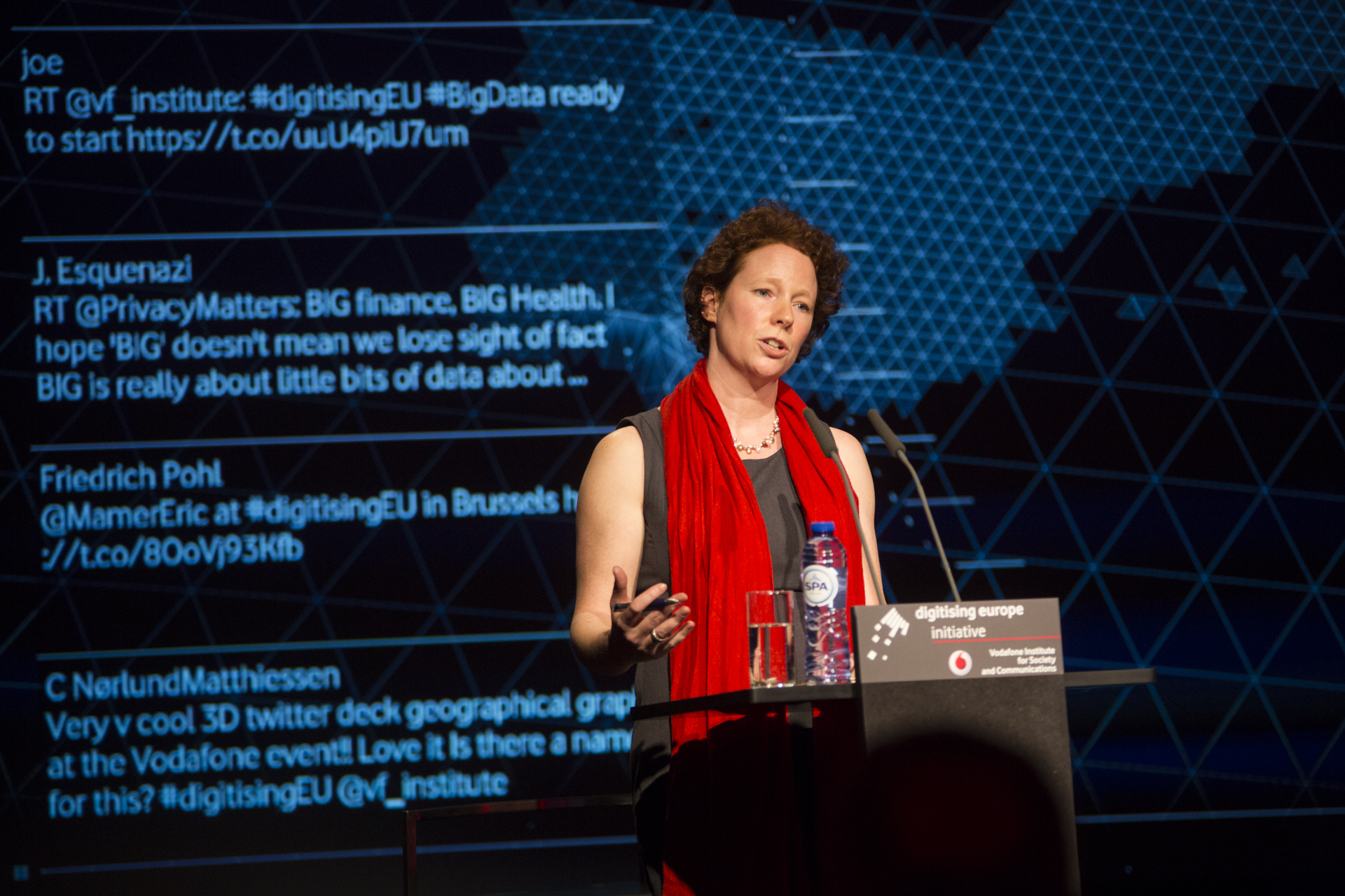 Linnet Taylor at DigitisingEU 2016 Brussels