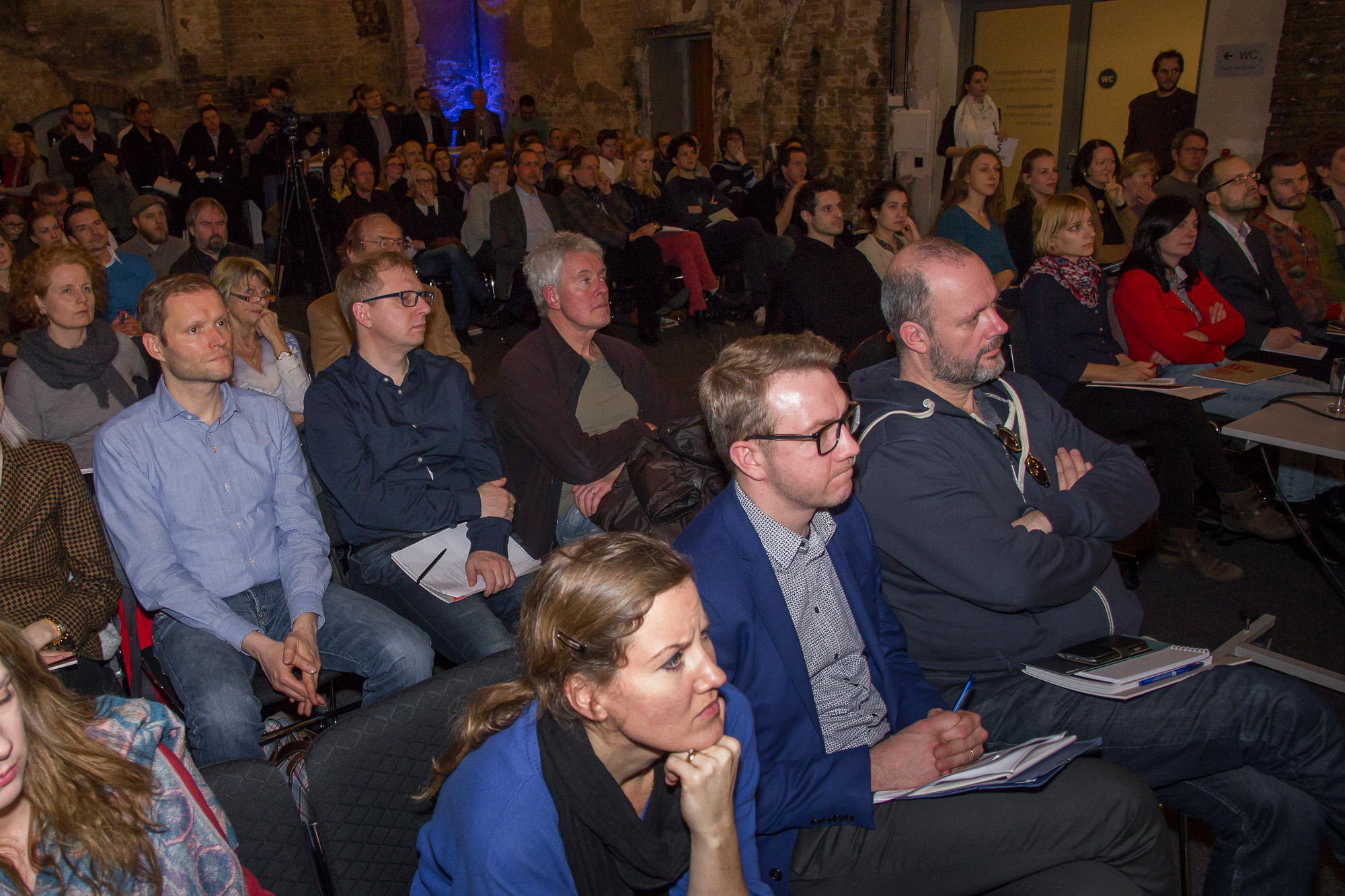 audience at big data in medicine