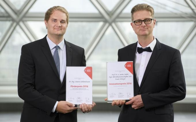 Vodafone Awards go to Frank Ellinger and Mario Goldenbaum