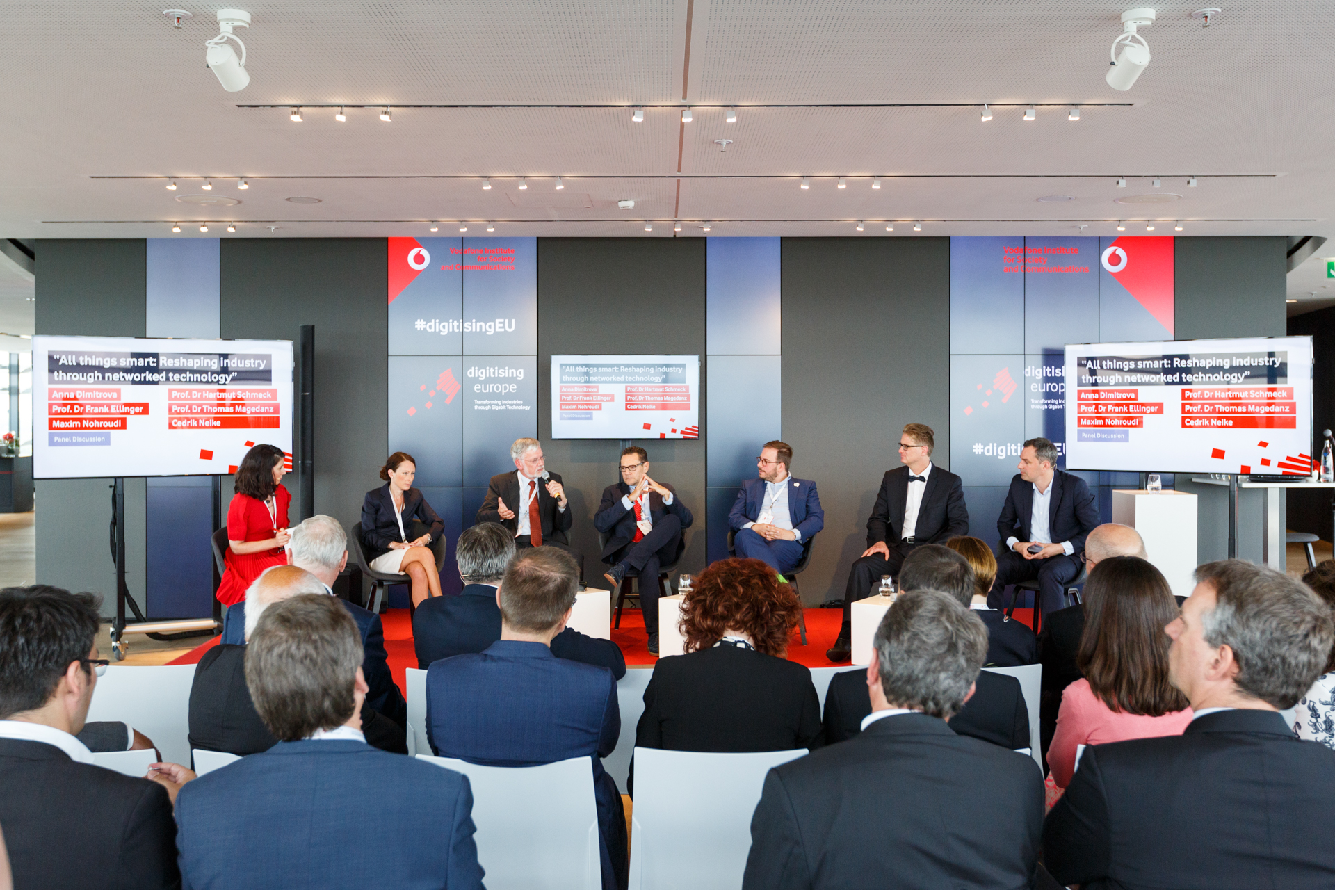 Panelisten Gigabit Summit (Bild3)