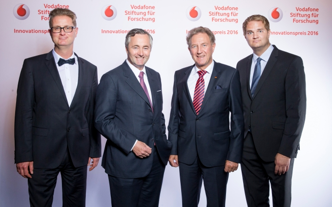 Vodafone Innovationspreis 2016 für Frank Ellinger - Die Highlights