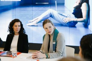 Miriam Wohlfarth (RatePAY) und Stephanie Birkner (Uni Oldenburg)