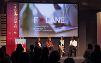 The Vodafone Institute launches the next round of F-LANE:  leveraging the impact of startups with a female empowerment focus