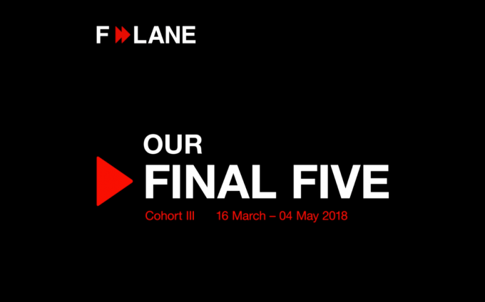 F-LANE introduces its next cohort for Spring 2018.