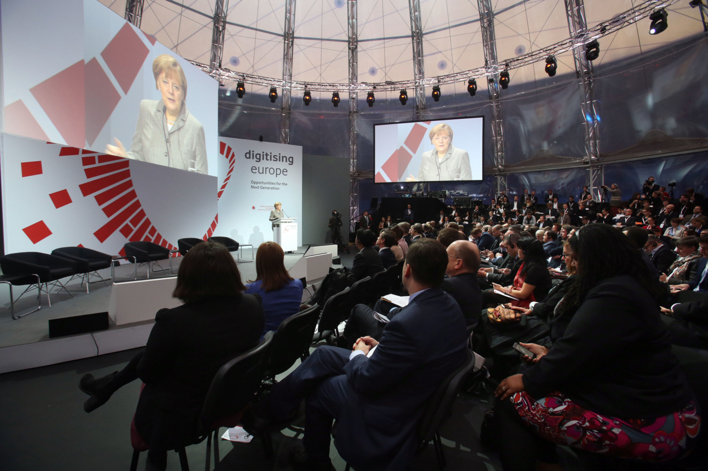"""The Future of Made in Europe"" with Angela Merkel"