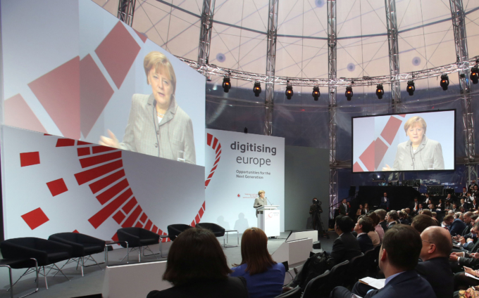 """The Future of Made in Europe"" mit Angela Merkel"