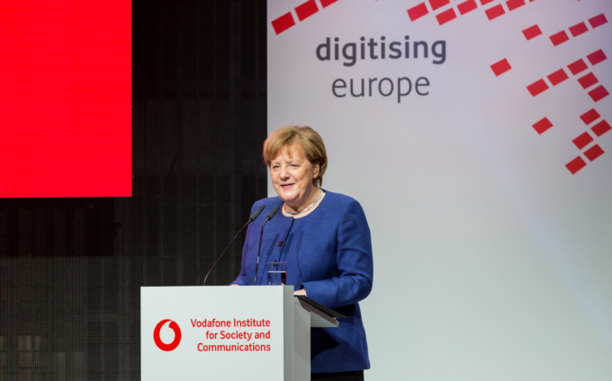 Digitising Europe Summit 2019 with Angela Merkel - Impressions
