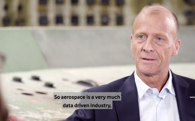Interview mit Airbus CEO Thomas Enders auf dem Digitising Europe Summit 2019