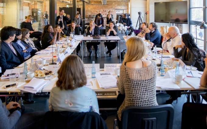 Impact investing roundtable on gender lens investing
