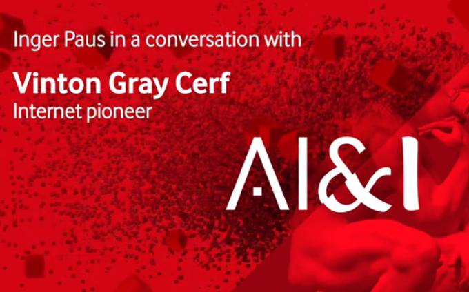 Interview mit Vinton G. Cerf über KI bei unserem fünften