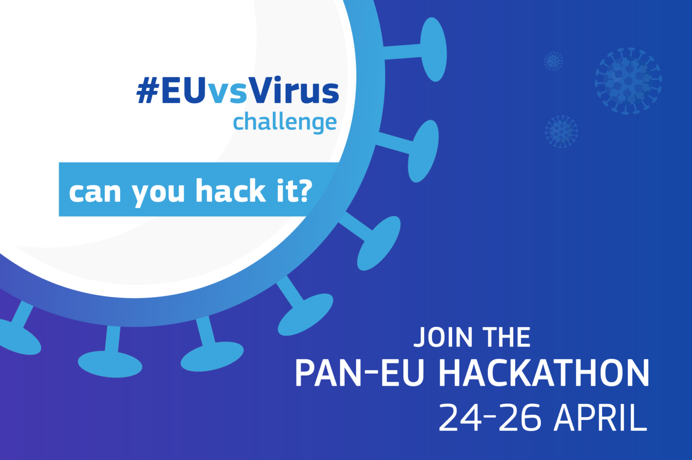Vodafone Institute supports #EUvsVIRUS hackathon