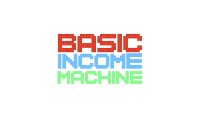 """""""Basic Income Machine"""": help at the push of a button"""