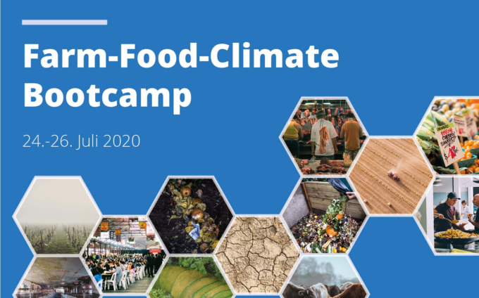 Sei dabei: Farm-Food-Climate Bootcamp