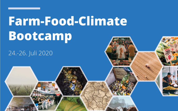 Be there: Farm-Food-Climate Bootcamp