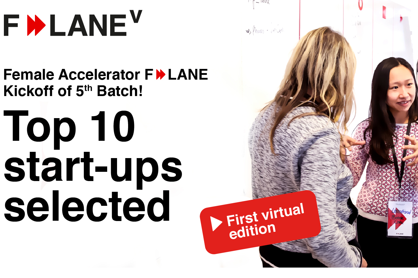 F-LANE 2020: Empowering women worldwide with technology