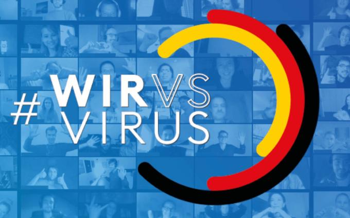 Gemeinsam und digital gegen die Krise – #WirVsVirus