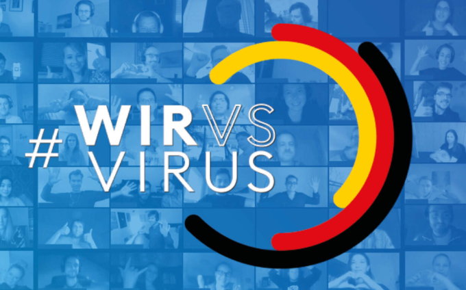 Together and digitally against the crisis – #WirVsVirus