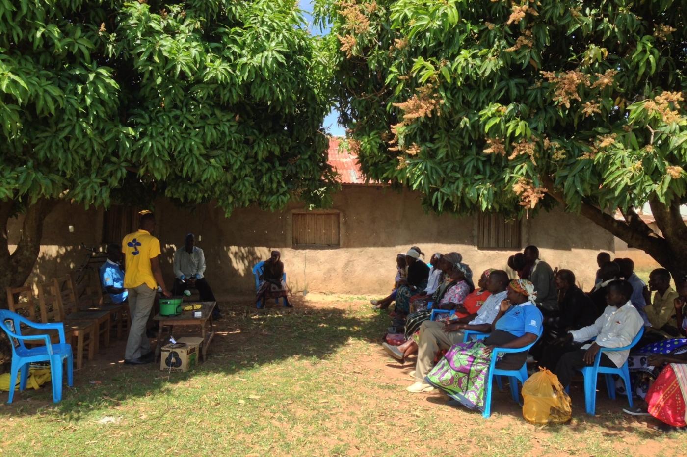 To the doorsteps of rural Kenya